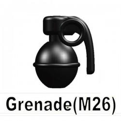 Lego Si-Dan Toys Grenade (M26) (noir) (La Petite Brique)
