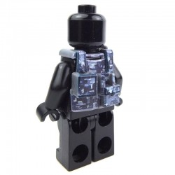 Lego Custom Si-Dan Toys Tactical Vest B12 (Digital Blue camouflage) (La Petite Brique)