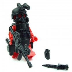 S.W.A.T. A-Team (ASSAULTER Alfa 2) Pack (10 parts) (Black)