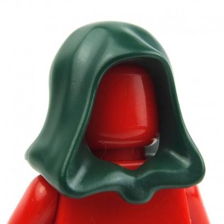 Lego Accessoires Minifig - Capuche Jedi (Dark Green) (La Petite Brique)