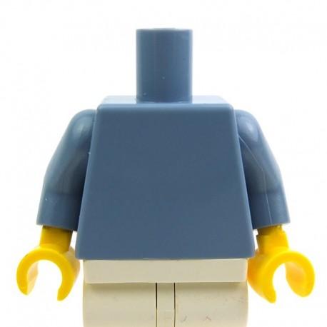 Lego Accessoires Minifig - Torse (Sand Blue) (La Petite Brique)