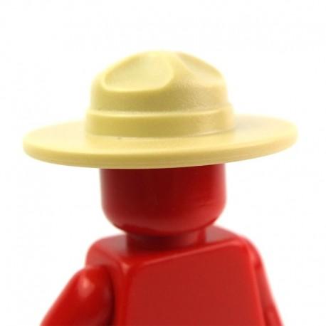 Lego Accessoires Minifig Chapeau Ranger (beige) (La Petite Brique)