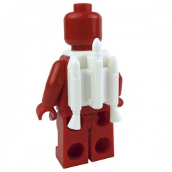 White Minifig, Jet Pack with Nozzles (Star Wars)