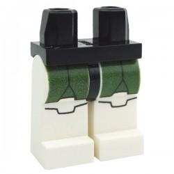 Lego Accessoires Minifig Jambes - Clone Trooper Dark Green (Star Wars) (La Petite Brique)