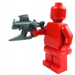 Lego Custom Accessoires Minifig BRICK WARRIORS Skewer SMG (steel) (La Petite Brique)
