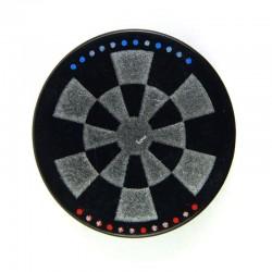 Black Tile, Round 2 x 2 with Dejarik Hologameboard