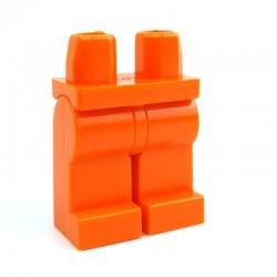 Lego Accessoires Minifig Jambes (orange) (La Petite Brique)