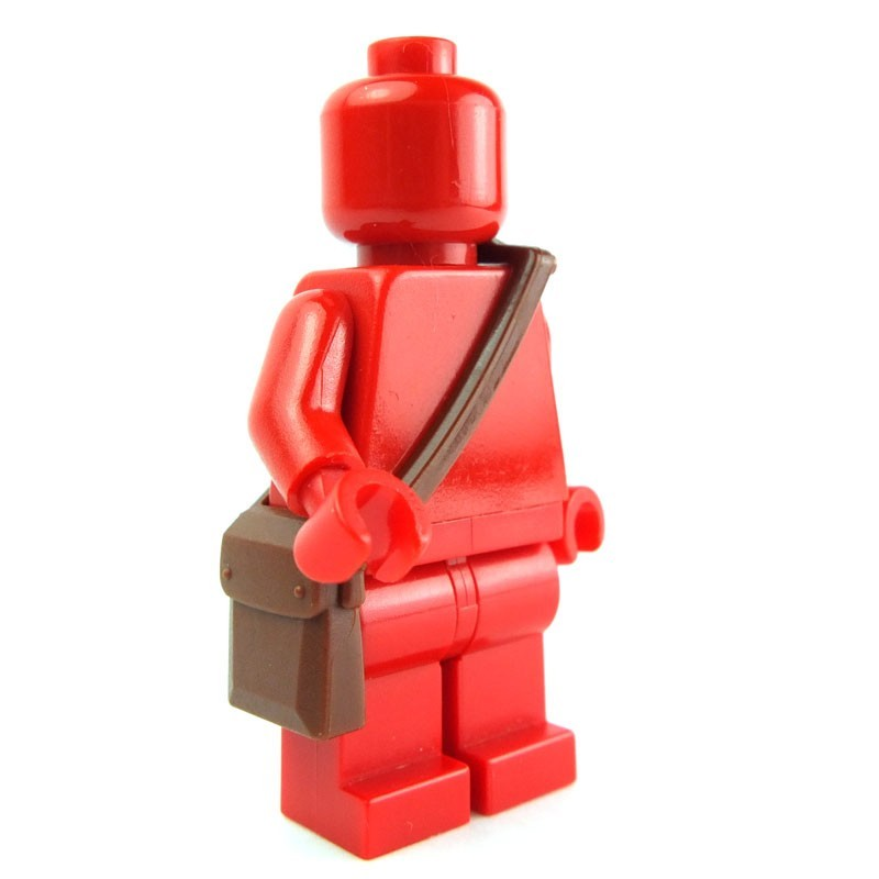 New LEGO Reddish Brown Star Wars Minifigure Non Opening Backpack Accessory