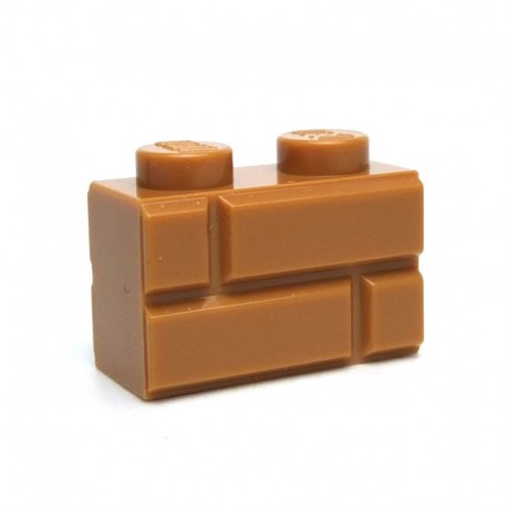 Brick 1x2 Modified with Masonry Profile