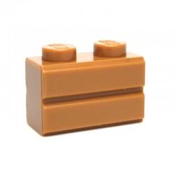 Lego Accessoires Brique 1x2 Modified (with Masonry Profile) (La Petite Brique)