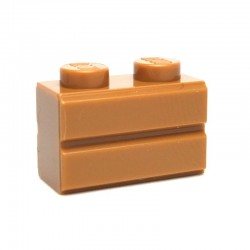 Brick 1x2 Modified with Masonry Profile