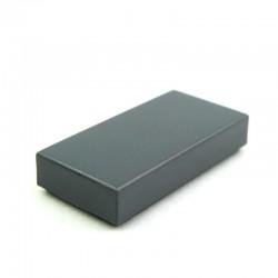 Lego Pièces détachées Tile 1x2 Dark Bluish Gray