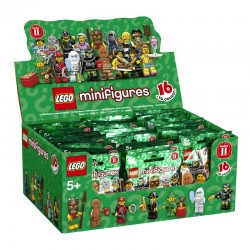LEGO Series 11 - box of 60 minifigures - 71002