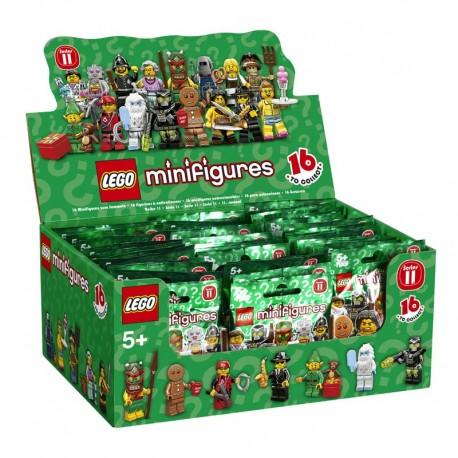 Lego Minifig 71002 - Boite complète de 60 sachets - Série 11 (La Petite Brique)