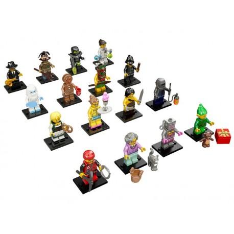 LEGO Serie 11 - 16 minifigures - 71002 (La Petite Brique)
