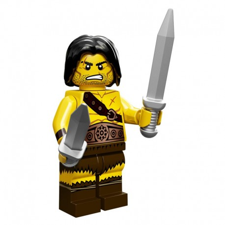 Lego Minifigure Minifig Serie 11 71002 le barbare (La Petite Brique)