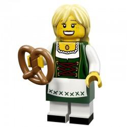 Lego Minifigure Serie 11 71002 la femme bavaroise (La Petite Brique)