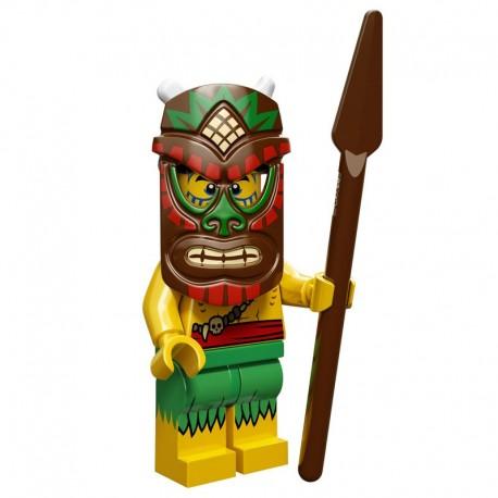 Lego Minifigure Serie 11 71002 le guerrier tiki (La Petite Brique)