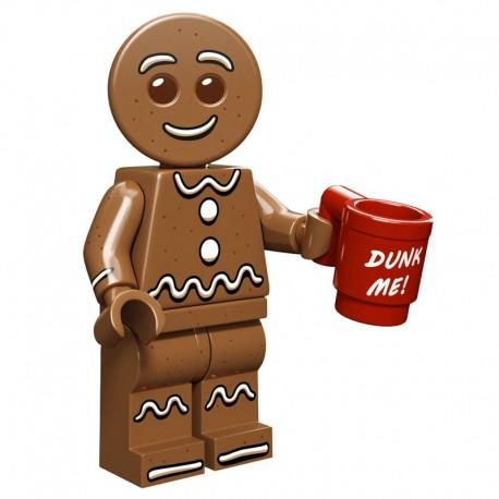 Lego Minifigure Serie 11 71002 le bonhomme en pain d'épices (La Petite Brique)