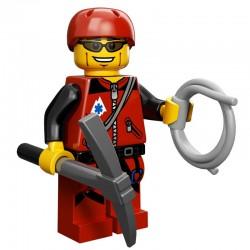 Lego Minifigure Serie 11 71002 l'alpiniste (La Petite Brique)