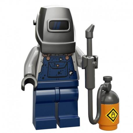 Lego Minifigure Serie 11 71002 le soudeur (La Petite Brique)