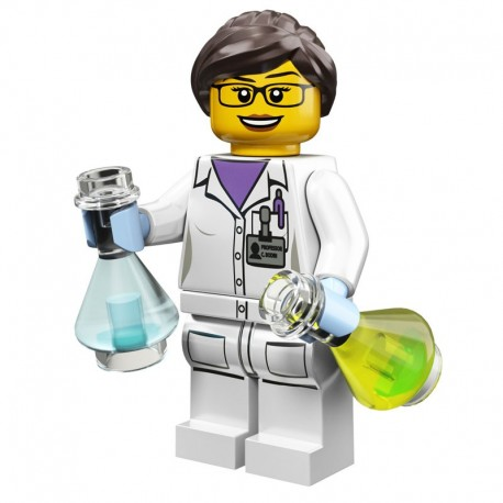 Lego Minifigure Serie 11 71002 la scientifique (La Petite Brique)