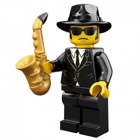 Lego Minifigure Serie 11 71002 le jazz man (La Petite Brique)