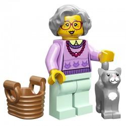 Lego Minifigure Serie 11 71002 la grand-mère (La Petite Brique)