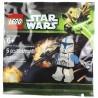 Lego Minifig 5001709 - Clone Trooper Lieutenant (Star Wars) 2013 (La Petite Brique)