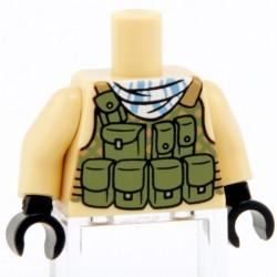 Lego Custom CITIZEN BRICK Torse minifig - Special Forces (La Petite Brique)