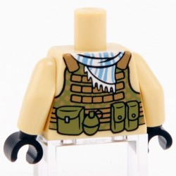 Lego Custom CITIZEN BRICK Torse minifig - Special Forces (La Petite Brique)