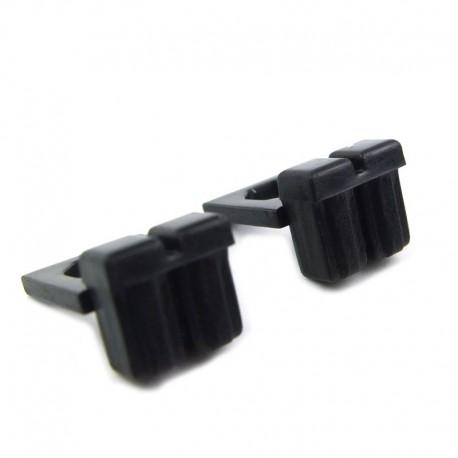 Lego Custom BRICKFORGE Ammo Pouch (noir) (la paire) La Petite Brique