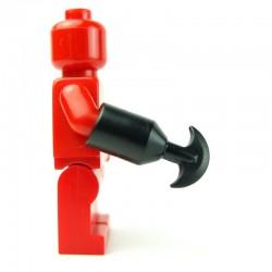 Lego Custom BRICK WARRIORS Scissor (noir) La Petite Brique