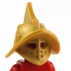 Lego Custom BRICK WARRIORS Casque Thraex (Pearl Gold) La Petite Brique