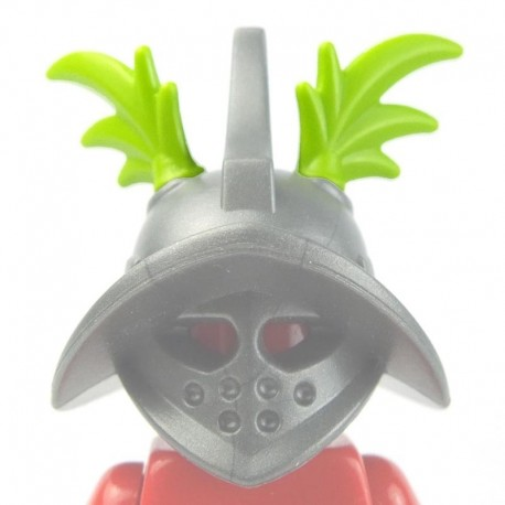 Lego Custom Minifig BRICKWARRIORS Plumes Gladiateur (paire - Lime) (La Petite Brique)