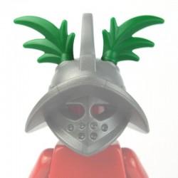 Lego Accessoires Minifig BRICKWARRIORS Plumes Gladiateur (paire - vert) (La Petite Brique)