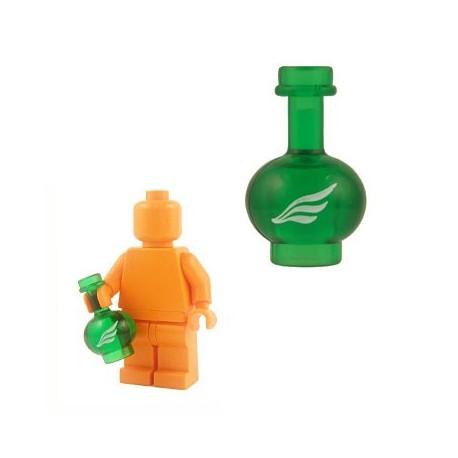 Lego Custom Accessoires Minifig BRICKFORGE Bouteille potion Rapidité (vert transparent) (La Petite Brique)