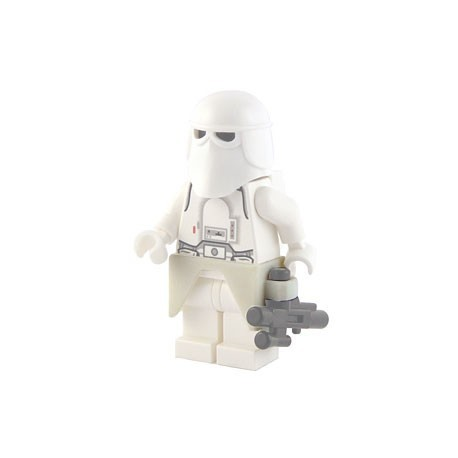 Lego Custom Accessoires Minifig BRICKFORGE Kama / Waist Armor (Blanc) (La Petite Brique)