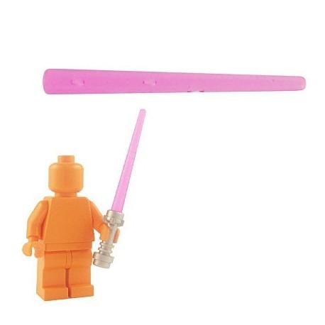 Lego Custom Accessoires Minifig BRICKFORGE Laser Beam (rose transparent) (La Petite Brique)