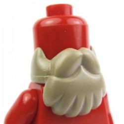Lego Custom Accessoires Minifig BRICKFORGE Barbe (Beige foncé) (La Petite Brique)