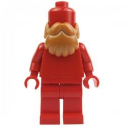Lego Custom Accessoires Minifig BRICKFORGE Barbe (Earth Orange) (La Petite Brique)