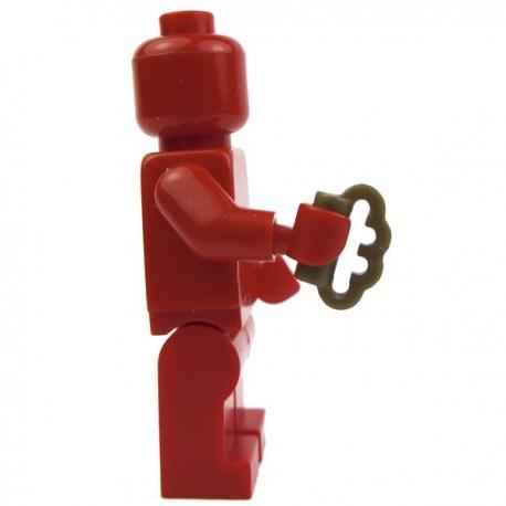 Lego Custom Accessoires Minifig BRICKFORGE Poing Américain (Bronze) (La Petite Brique)