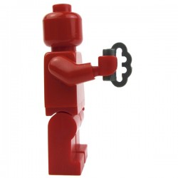 Lego Custom Accessoires Minifig BRICKFORGE Poing Américain (Steel) (La Petite Brique)