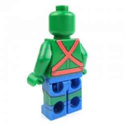 Lego Custom Minifig EclipseGRAFX Mr. Martian classic (Martian Manhunter classic) (La Petite Brique)