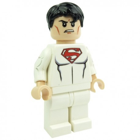 Lego Custom Minifig eclipseGRAFX Weapon Kr (White SuperBoy) (La Petite Brique)