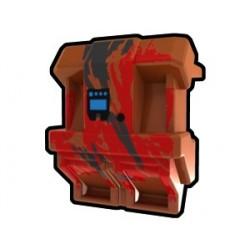 Lego Minifig Custom AREALIGHT Dark Orange SV Jetpack (La Petite Brique) Star Wars