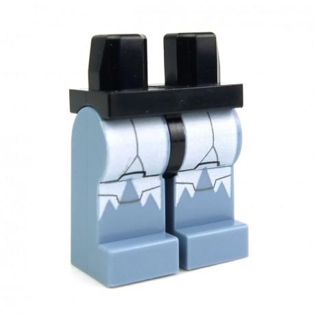 Lego Accessoires Minifig Jambes - Wolfpack Clone Trooper (Star Wars) (Sand Blue - Black) (La Petite Brique)