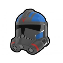 Lego Custom Minifig AREALIGHT Dark Gray 501st Jet Trooper Helmet (La Petite Brique) Star Wars