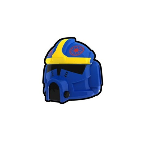 Lego Custom Minifig AREALIGHT Blue Clone Pilot Odd Ball Helmet (La Petite Brique) Star Wars