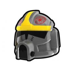 Lego Custom Minifig AREALIGHT Silver Clone Pilot Odd Ball Helmet (La Petite Brique)